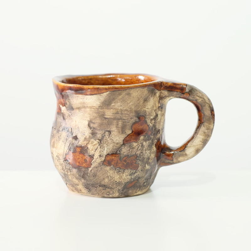 mouhitoaji かすりカップ(現品写真)