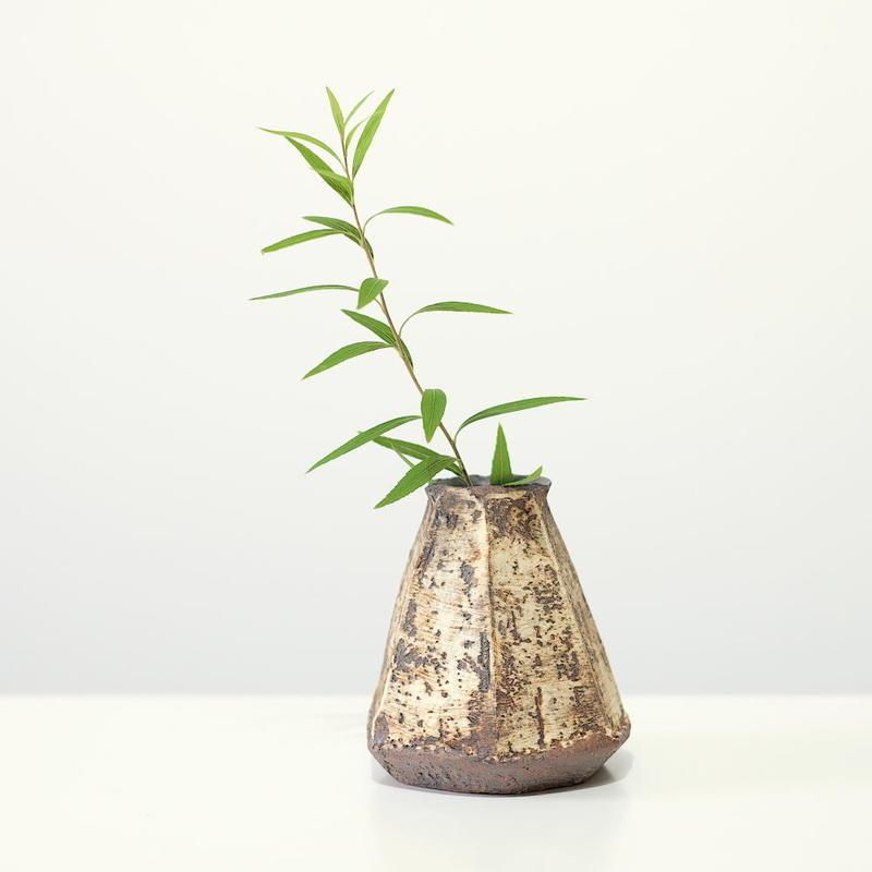 螢松窯 森の花器C・小 (実物写真)