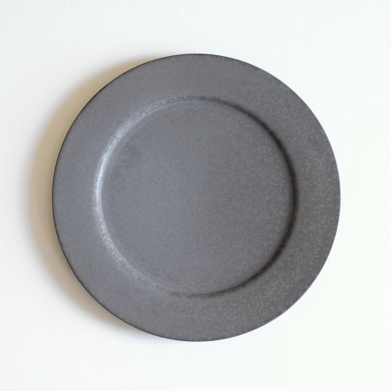 炻器 plate M 黒