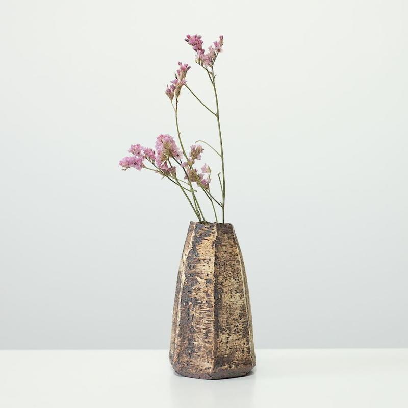 螢松窯 森の花器A・小 (実物写真)