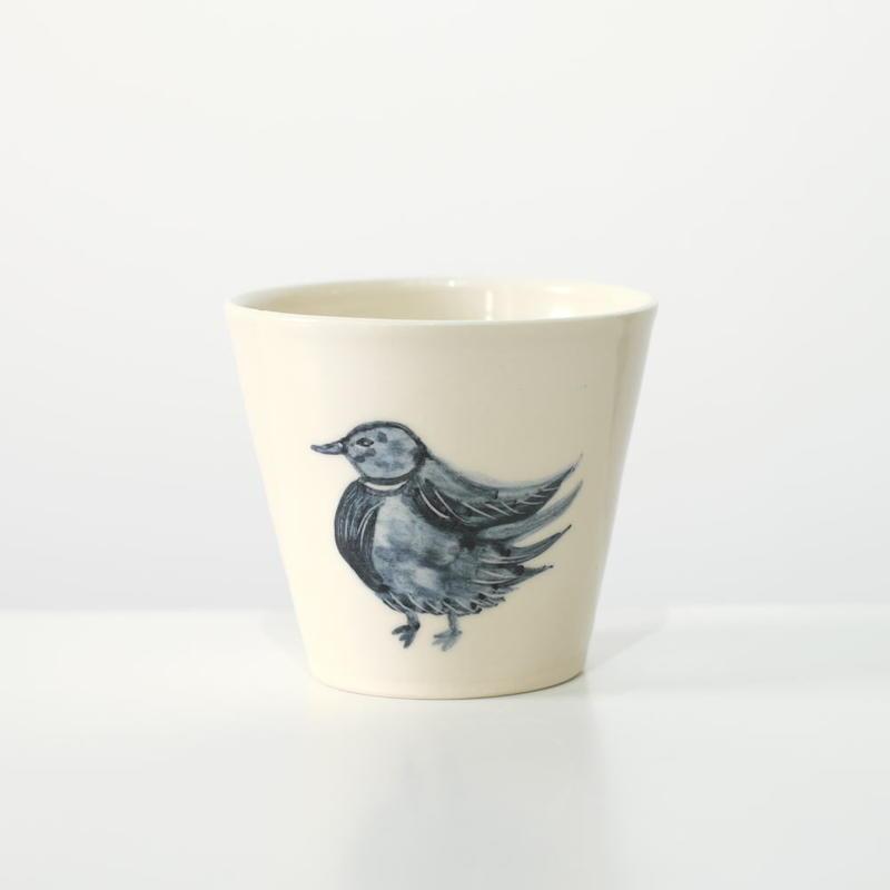 mouhitoaji そばちょこ・鳥(現品写真)
