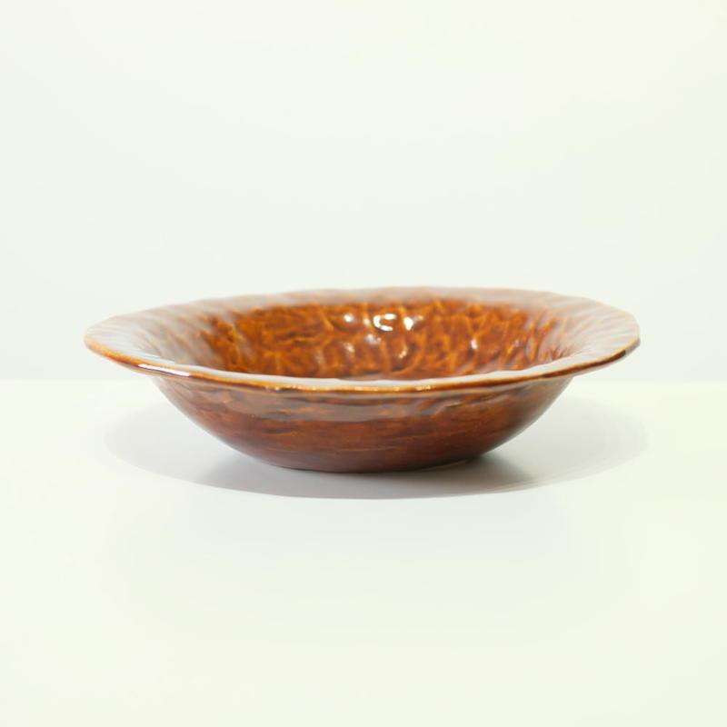 mouhitoaji 茶色いスープ皿