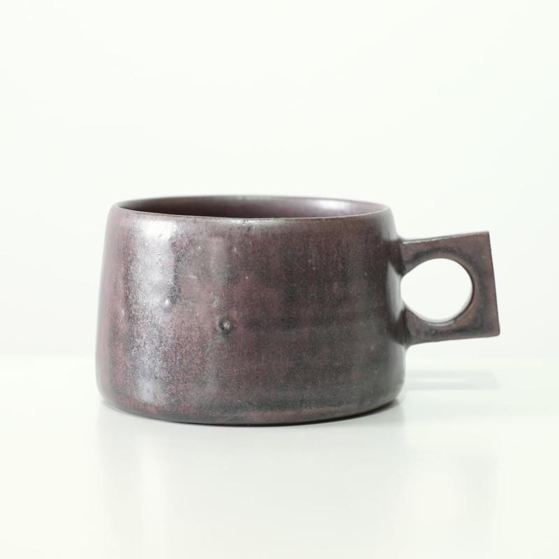 kobo syuro 銀彩釉 マグカップ