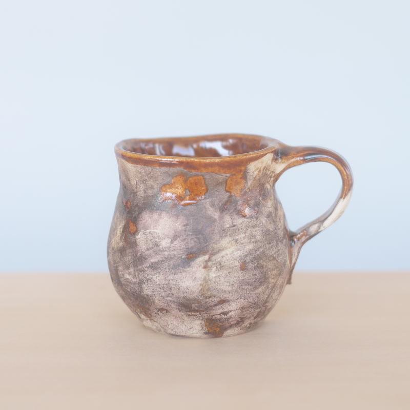 mouhitoaji  かすりコーヒーカップ