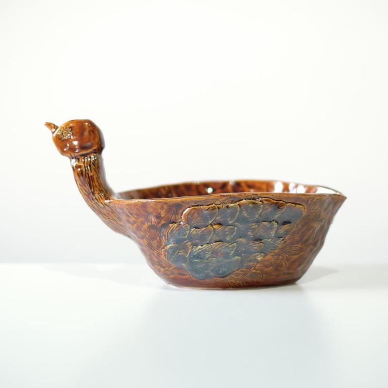 mouhitoaji  鳥の植木鉢2(現品写真)
