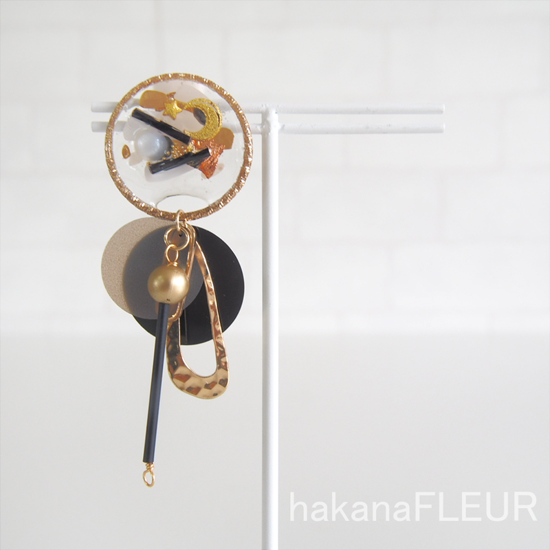 【hakanaFLEUR】イヤリング【h-39】