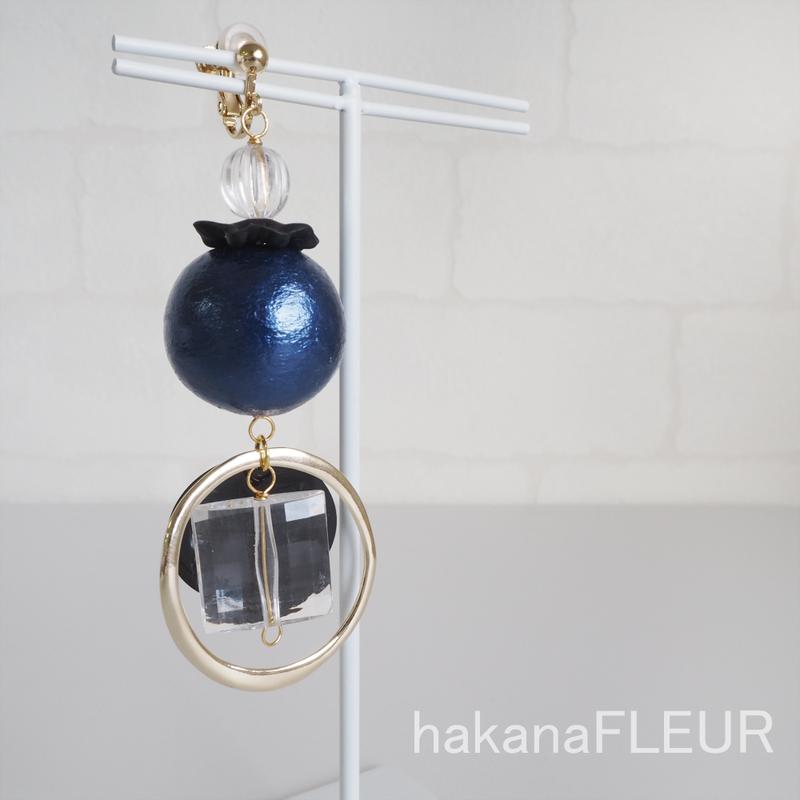 【hakanaFLEUR】イヤリング【h-009】