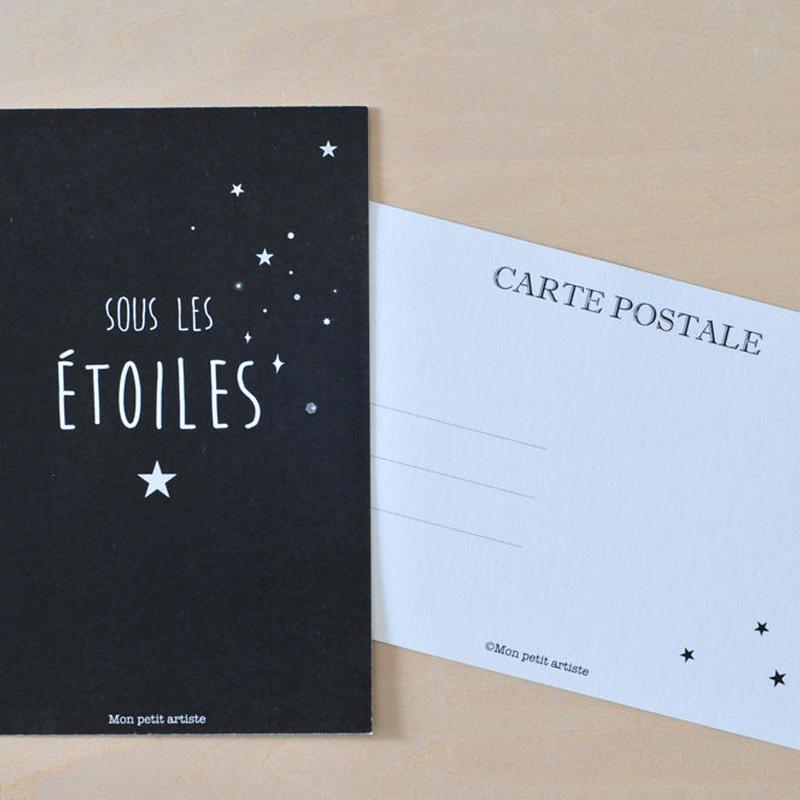 postcard ★sous les ETOILES