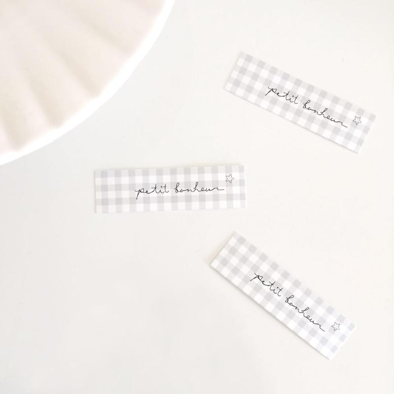 tag card ☆ petit bonheur/BONNE CHANCE 30枚