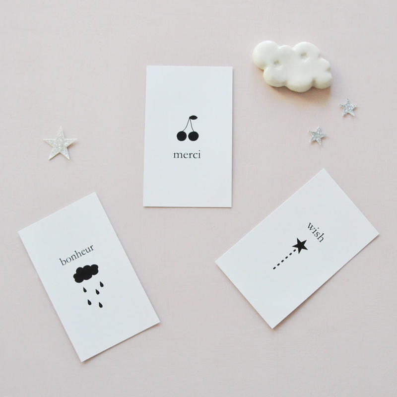 messagecard ★3種入り 30枚
