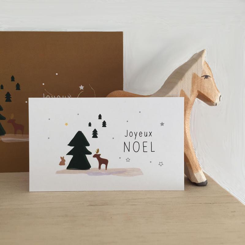 N-24 messagecard ★ Joyeux Noël 20枚