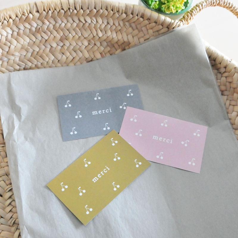 messagecard ★3種 30枚