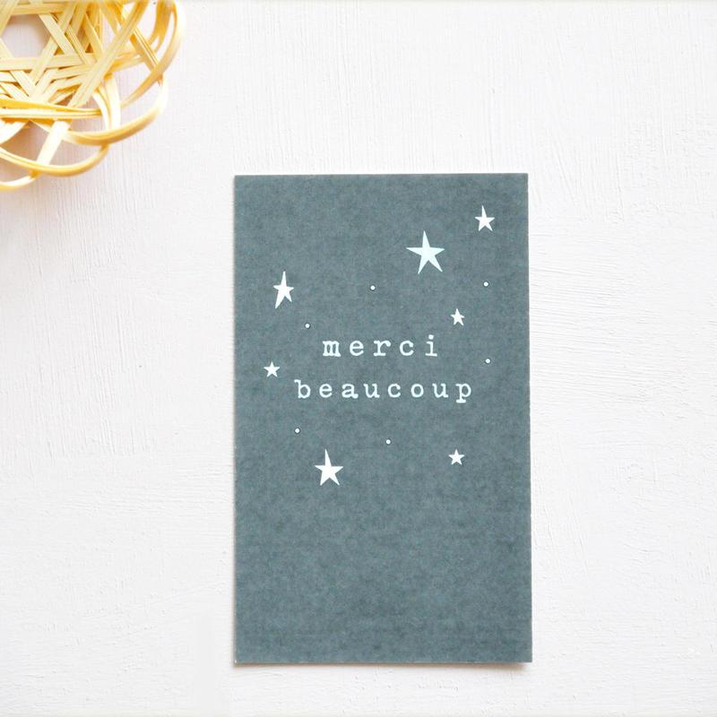 M-13 messagecard ★ étoile merci beaucoup  30枚