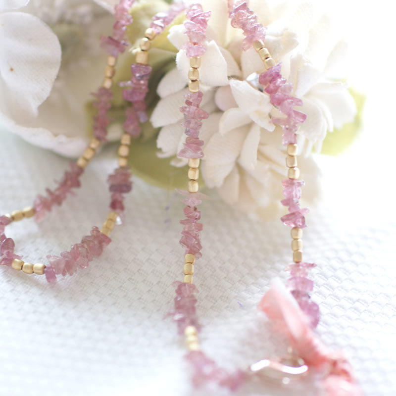 pinktorumaline Necklace