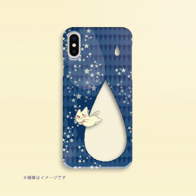 B*iPhone XR/XSMax/iPhone6Plus/6sPlus/7Plus/8Plus*月光雨のねこ*しずく