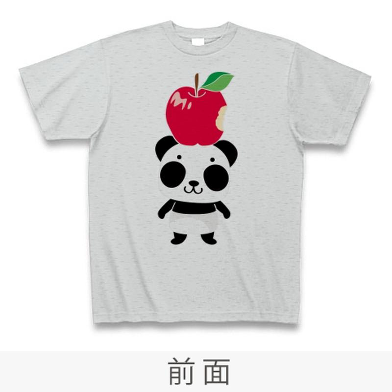 Bリンゴ食べたの誰?Tシャツ_グレーCT01