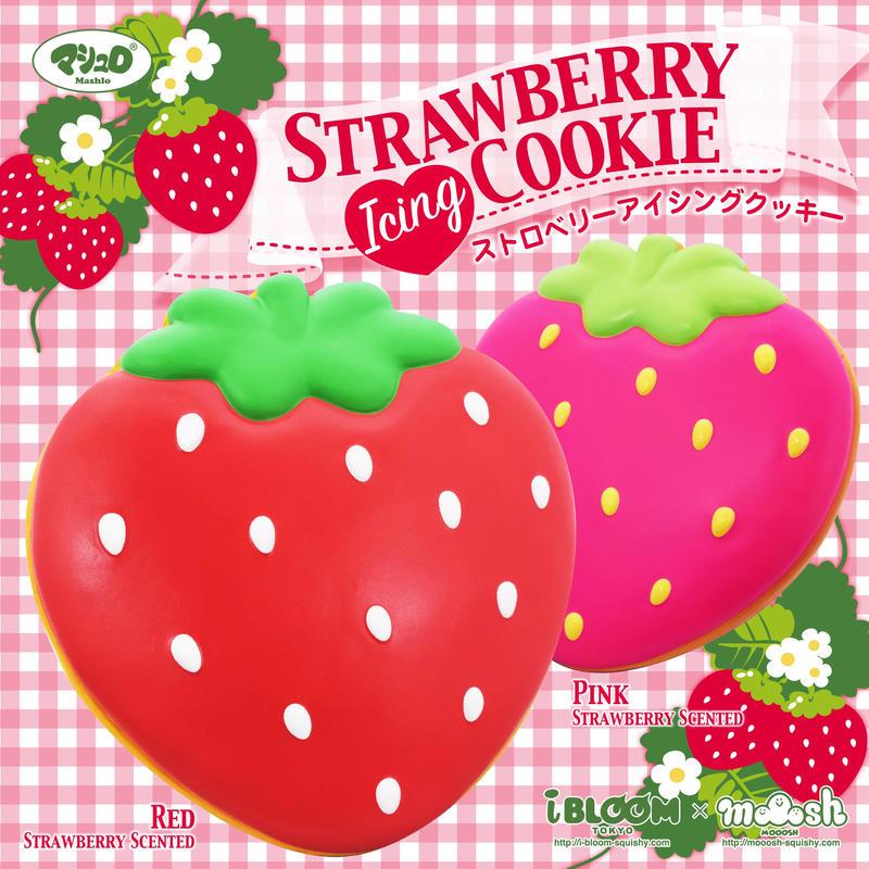 ストロベリーアイシングクッキー/STRAWBERRY ICING COOKIE