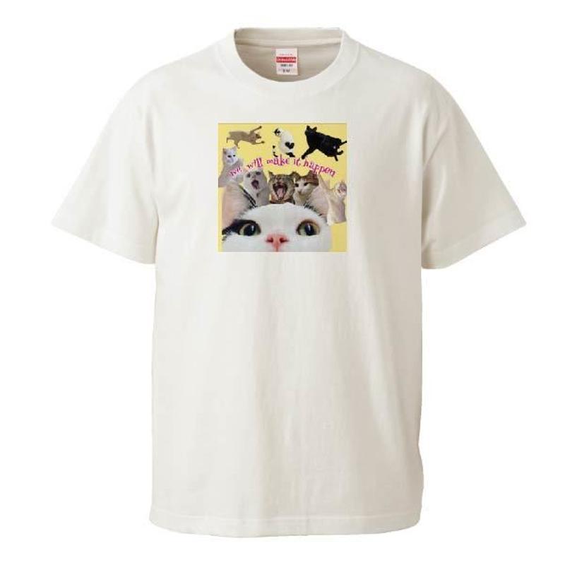 保護団体支援デザイン みんなで一緒に!! Tシャツ