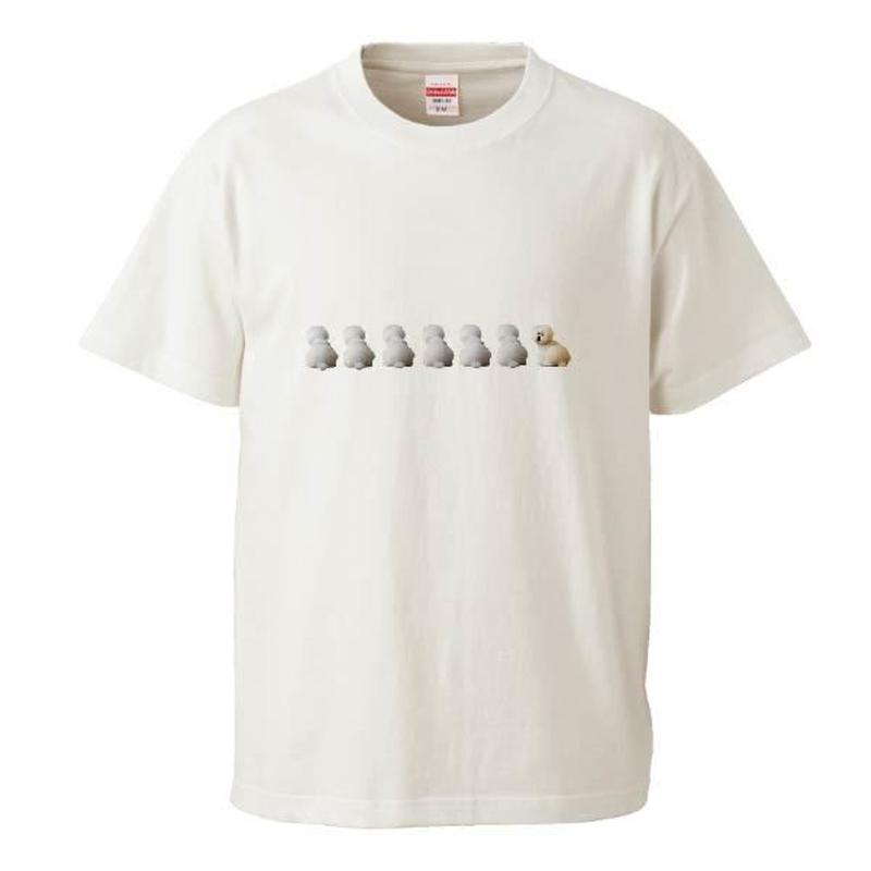 振り向きしらすちゃん Tシャツ