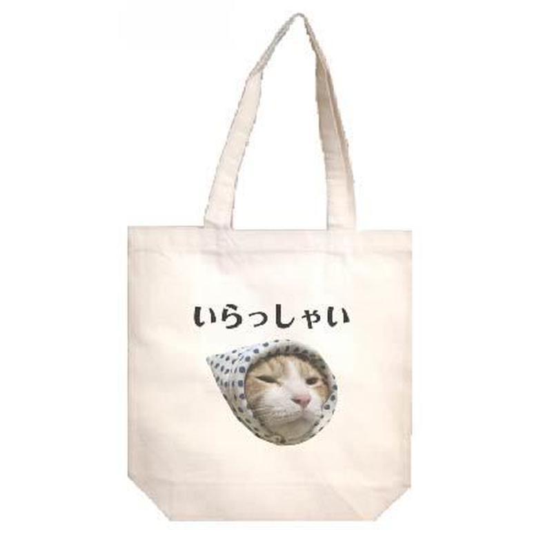 いらっしゃいトートバッグ Instagramで大人気のポン太ちゃんがトートバッグになりました!