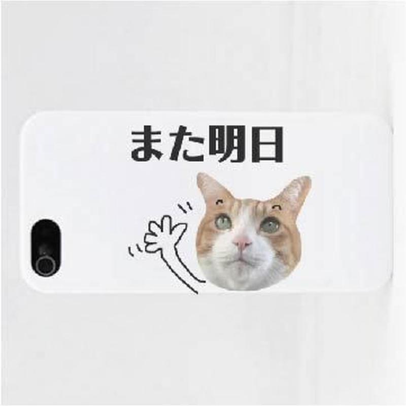 また明日iPhoneケース Instagramで大人気のポン太ちゃんがiPhoneケースになりました!