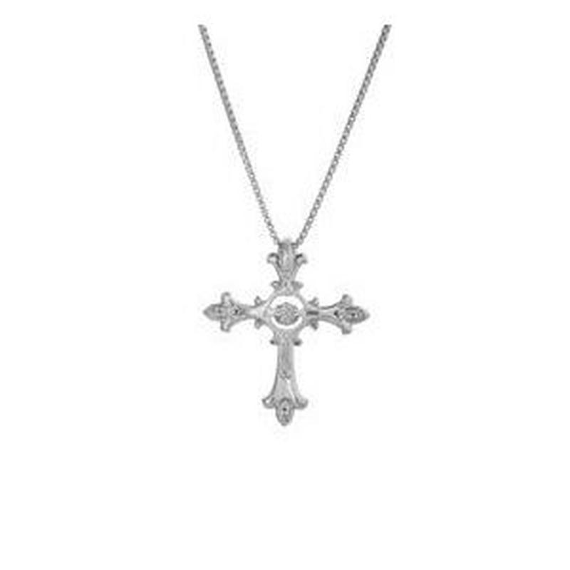 ダンシングストーンネックレス【Eternal Cross】 クロス NYP-608