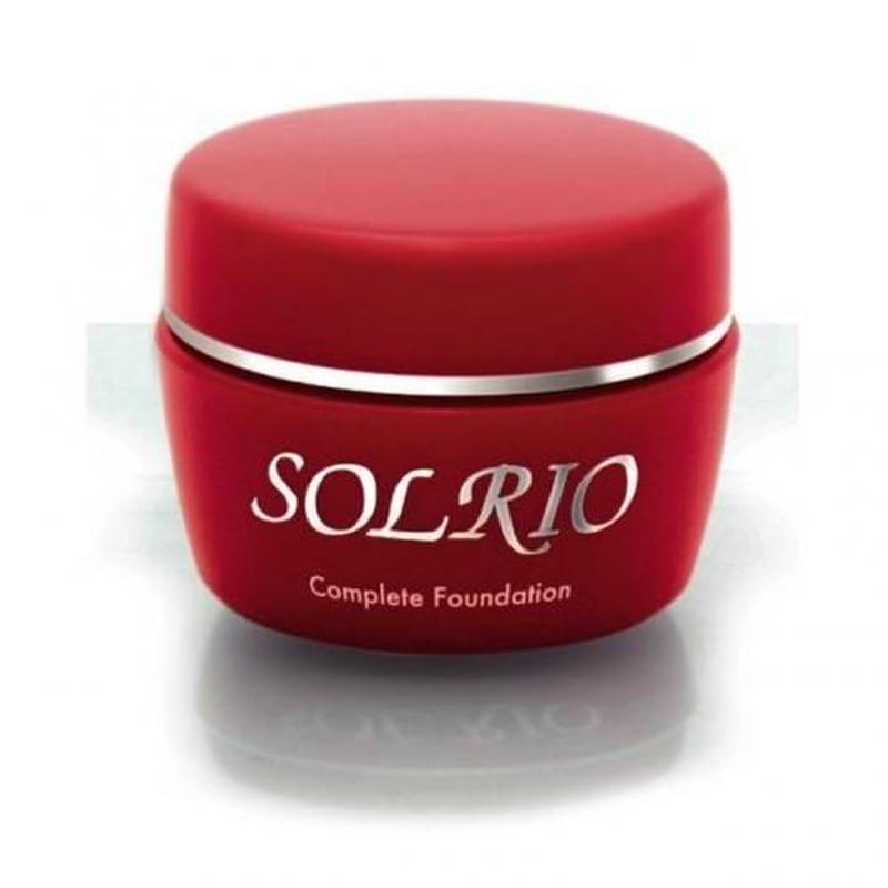 ソルリオ コンプリートファンデーション  60g      ノンシリコンベースの七役のジェルファンデ   化粧水もいらない!