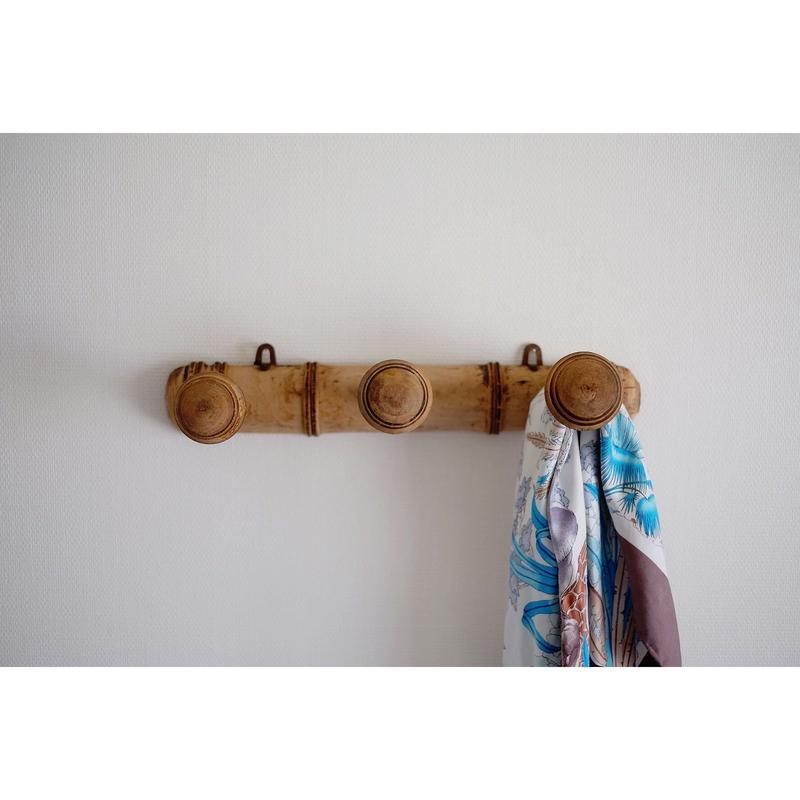 フランスの古い木製ハンガー