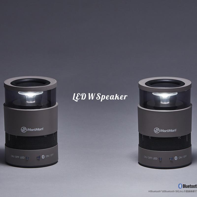 MoriMori W Speaker GRAY ダークグレー色 FWS-1701-GR