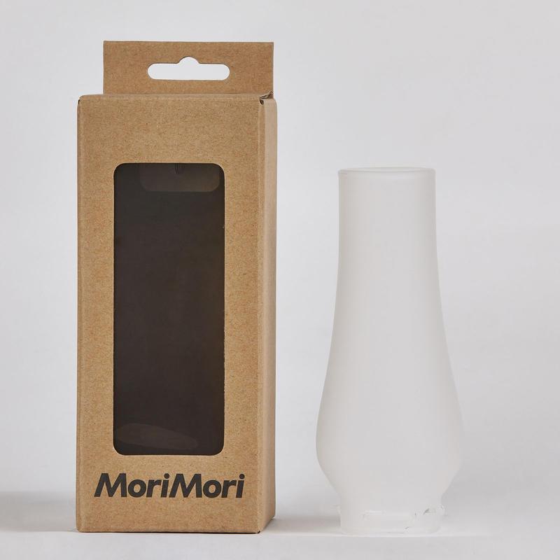 MoriMori LED ランタンスピーカー用フロストガラスグローブ  FLS-GOP-FS