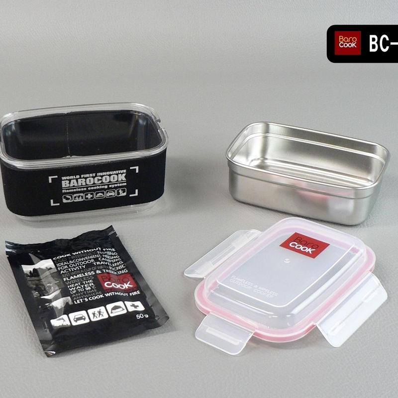 BC-003 バロクック 加熱式ランチボックス 角型Mサイズ 容量850ml