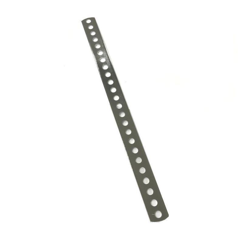 2042 マゲ板 鉄クローム 同穴直1x20x289