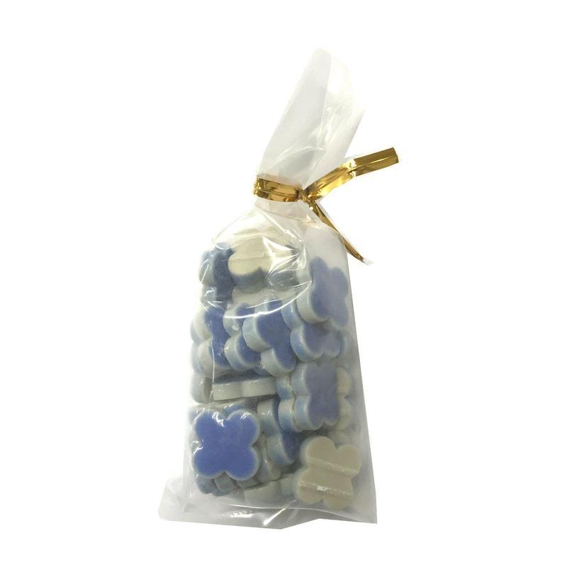 袋入モザイクタイル 花柄 フラワー 30個入①