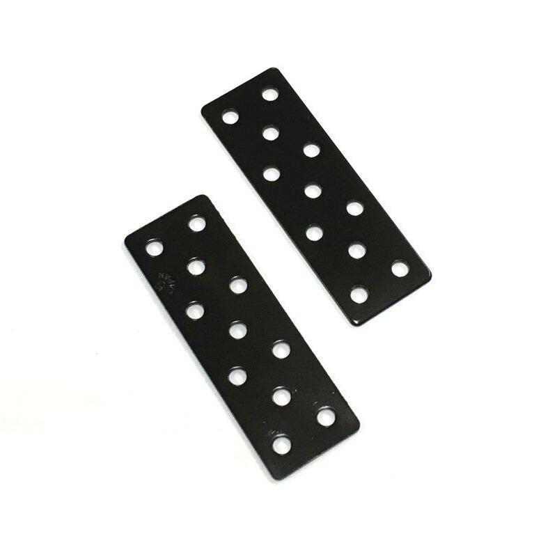 ジョイントミニ平板 黒 18x55(2個入)C-766