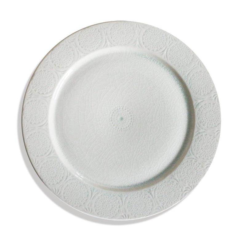 Ståmp Dinner plate white