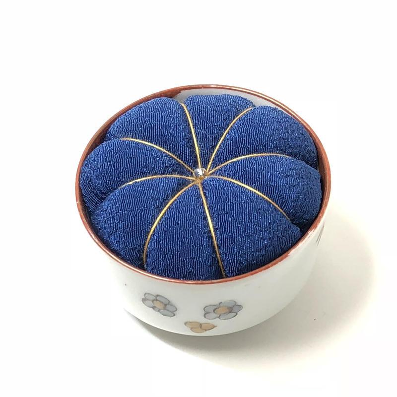 九谷焼針山 ヴィンテージ  blue