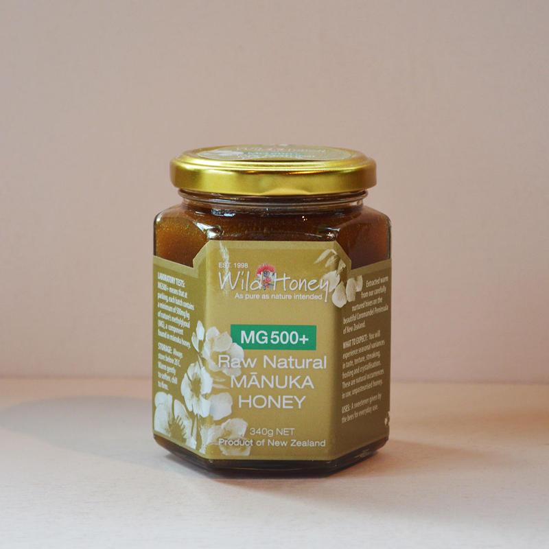 Wild Honey  Raw Natural Manuka Honey MG500+