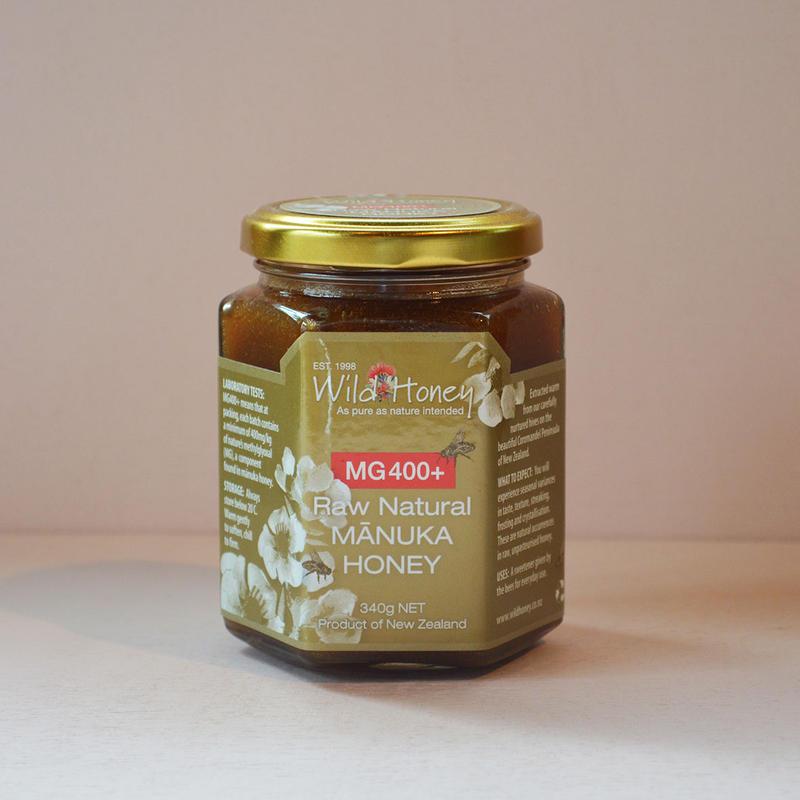 Wild Honey Raw Natural  Manuka Honey MG400+ マヌカハニー