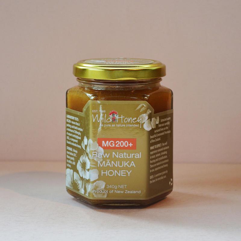 Wild Honey Raw Natural Manuka Honey MG200+ マヌカハニー