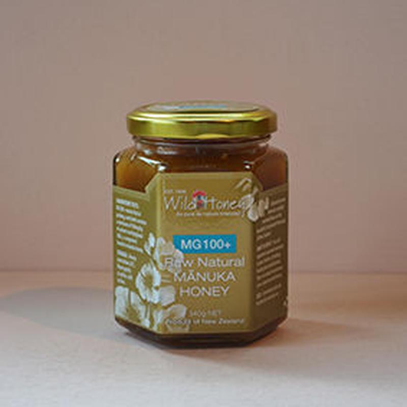 Wild Honey Raw Natural Manuka Honey MG100+ マヌカハニー
