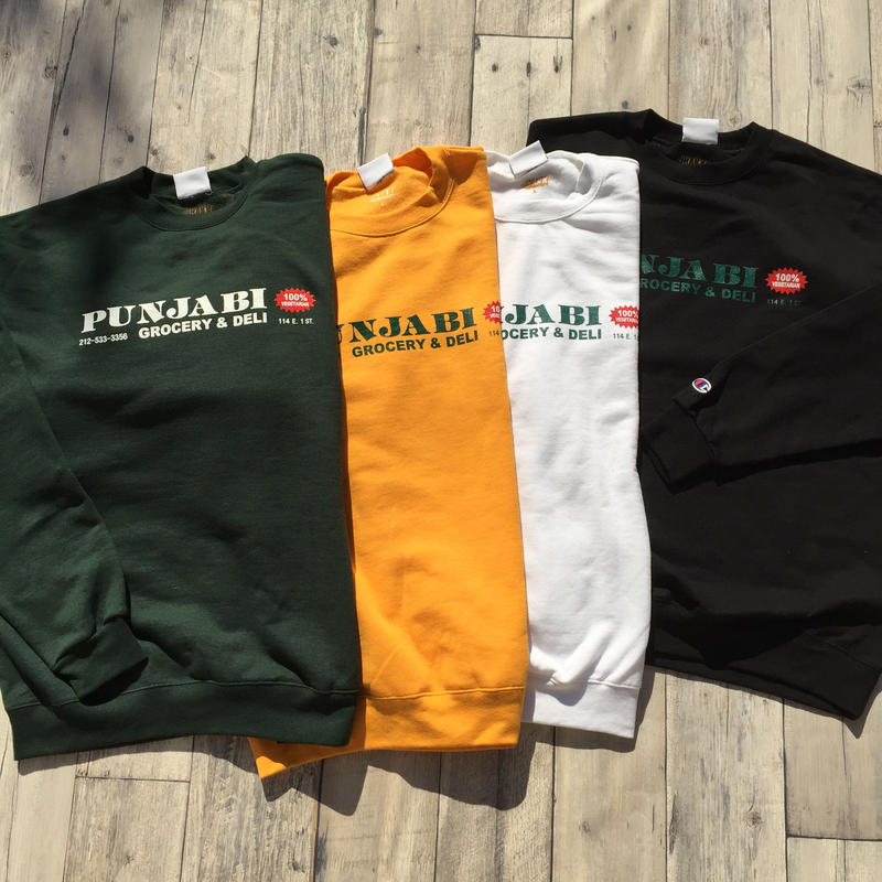 Punjabi Crewnecks