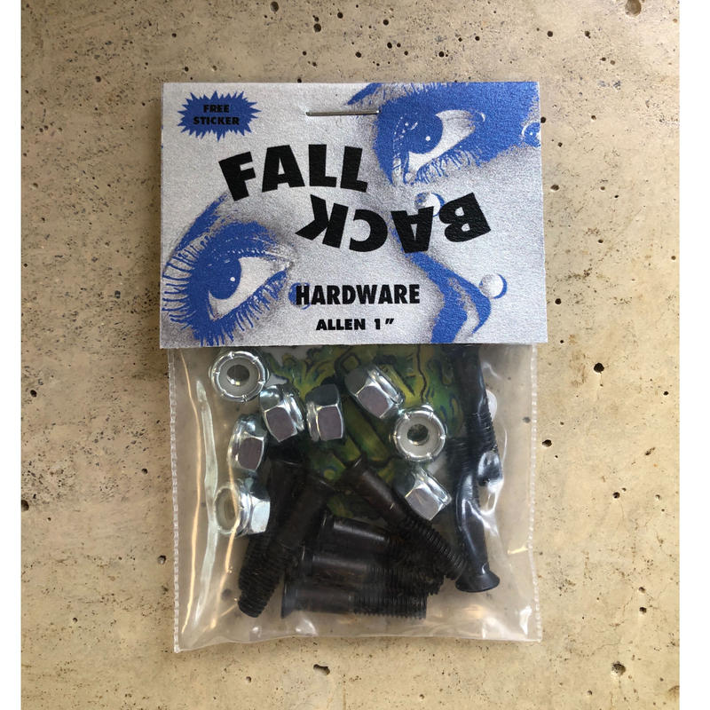 "FALL BACK hardware Allen 1"""