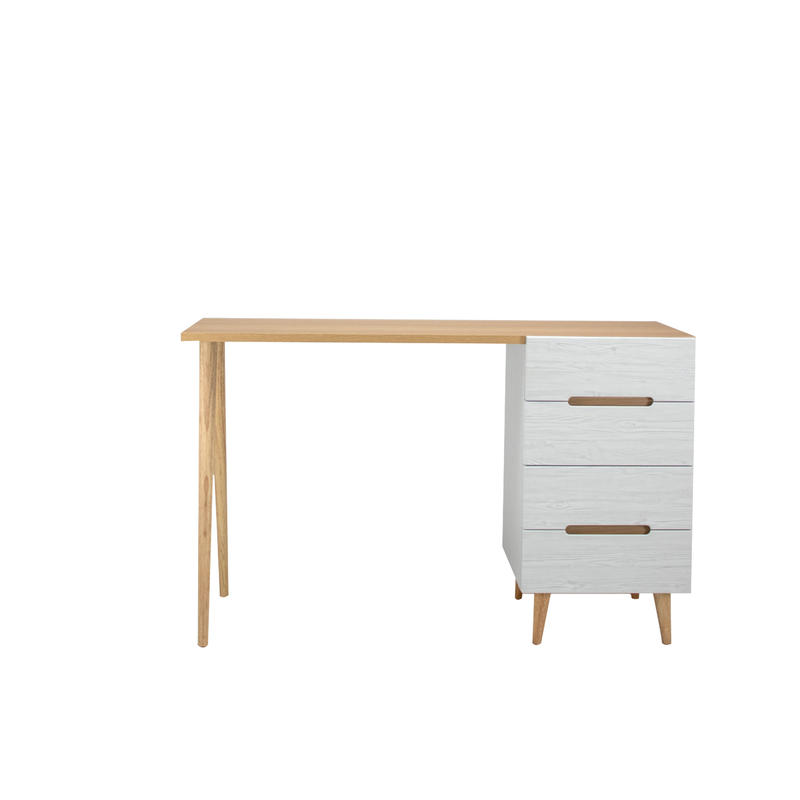 FLAMINGO DESK 1200 CHEST WHITE