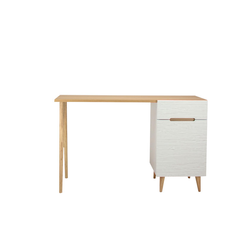 FLAMINGO DESK 1200 LIVINGBORD WHITE