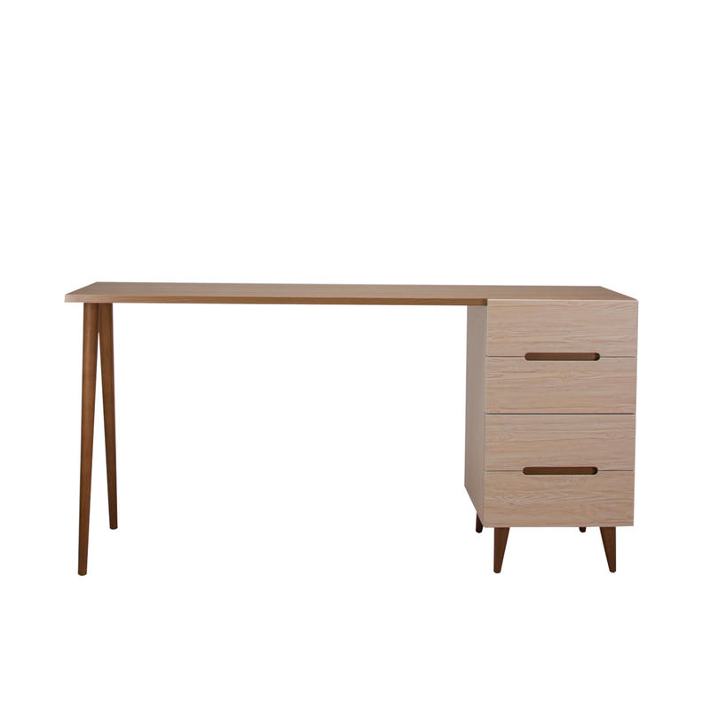 FLAMINGO DESK 1500 CHEST BROWN
