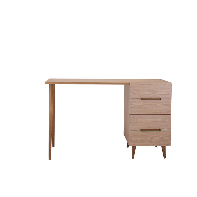 FLAMINGO DESK 1200 CHEST BROWN