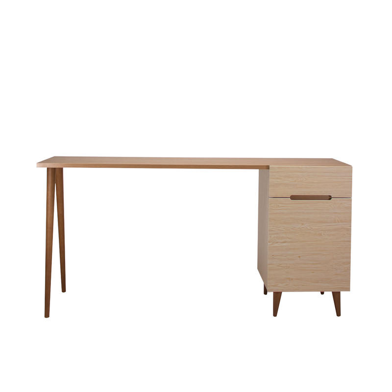 FLAMINGO DESK 1500 LIVINGBORD BROWN