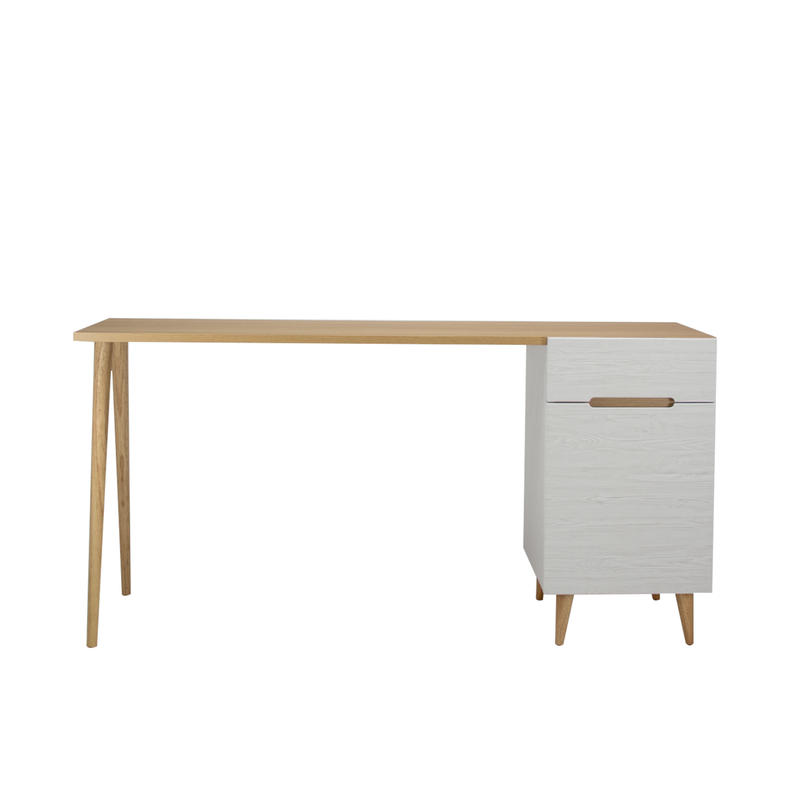 FLAMINGO DESK 1500 LIVINGBORD WHITE