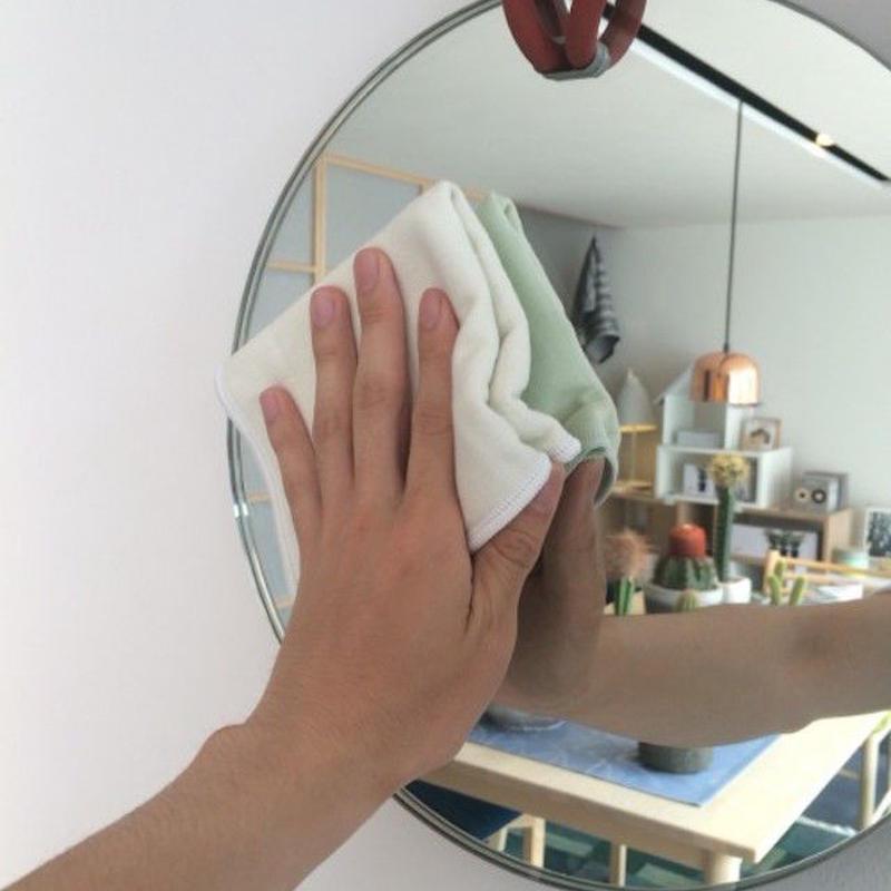 【家事労働時間軽減】アイトリブお薦めストレスフリーのガラス拭きマイクロファイバークロス