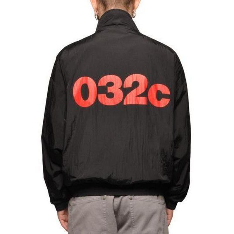 032C COSMIC WORKSHOP REVERSIBLE BLOUSON BLACK